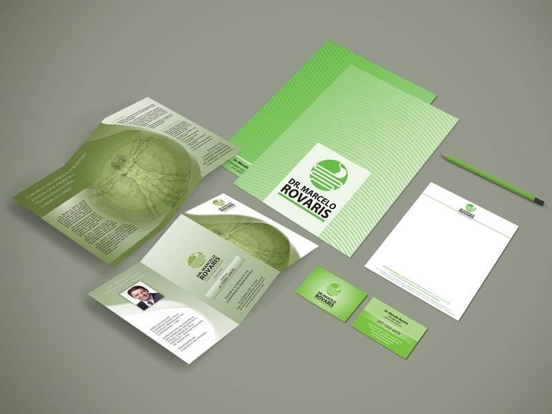 Identidade Visual da Clínica Dr. Marcelo Rovaris