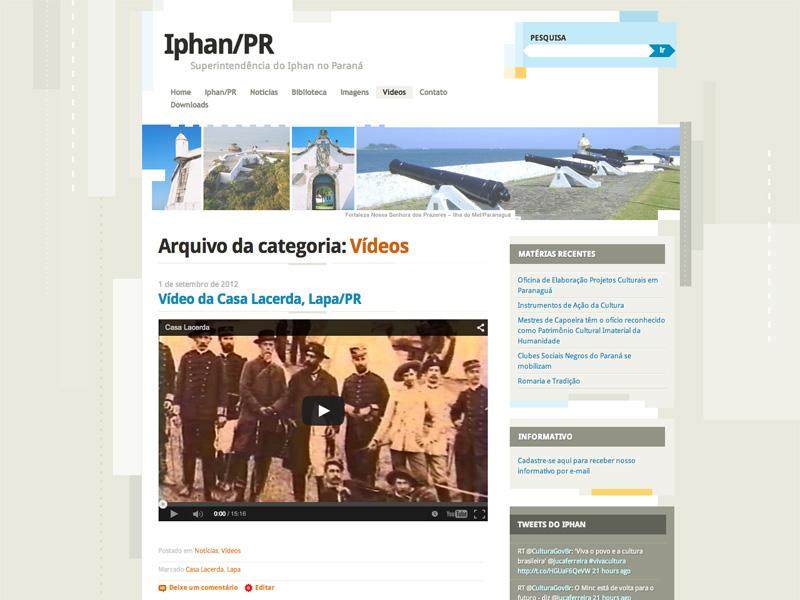 Site IPHAN/PR